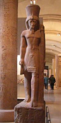 Seti II statue