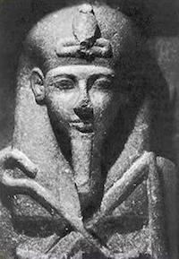 Siptah, from his sarcophagus (copyright John D Croft)