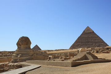 New Kingdom Sphinx Temple (copyright Ben Snooks)
