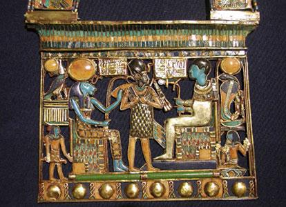 Pendant from the tomb of Tutankhamun