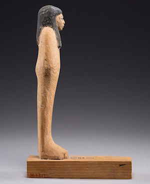 Ahhotep I in the form of Osiris, Metropolitan Museum  http://www.metmuseum.org/art/collection/search/54895