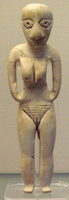 Badarian figure c 4400 - 4000 BC (copyright Guillaume Blanchard)