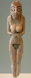 Statuette from a Badari grave, Louvre, (copyright Guillaume Blanchard)