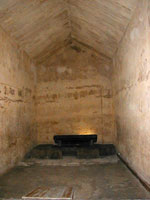 Khafre's burial chamber from the Egypt Archive