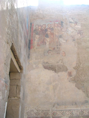 Roman murals at Luxor temple