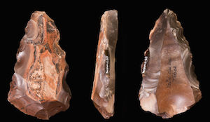 Middle Paleolithic flints from the Valley of the Kings (copyright Didier Descouens)