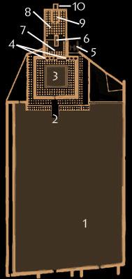 Montuhotep's mortuary temple Deir el bahri