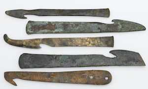 Knives used in mummification (copyright Welcome Images)