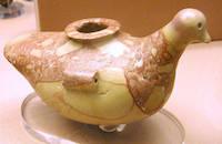Bird shaped vessel (copyright Jon Bodsworth Egypt Archive)