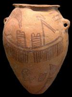 Naqada II pottery (copyright Guillaume Blanchard)