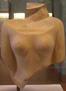 Fragment of statue of Queen Neferhetepes