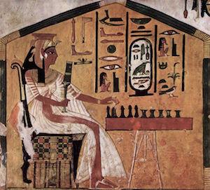 Nefertari holding the Sekhem