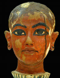 Tutankhamun as Nefertum (copyright Jean-Pierre Dalbéra)