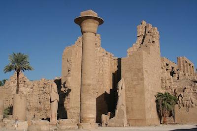 Ramesseum (copyright S F E Cameron)