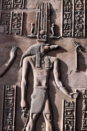 Sobek, from Kom Ombo (copyright Hedwig Storch)