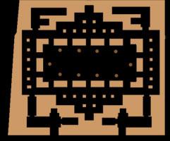 Old Kingdom Sphinx Temple plan