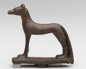 Bronze statuette of Wepwawet 664–332 B.C. (copyright Charles Edwin Wilbour)